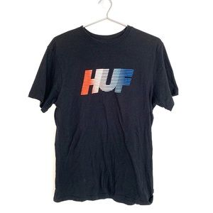 🔥Huf Skateboarding Box Logo T Shirt Men's Small